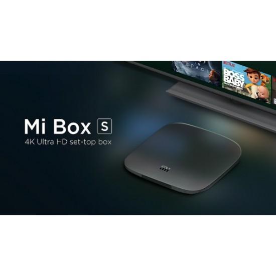 الجهاز الخارق Xiaomi Box S أحدث إصدار بنظام اندرويد تيفي